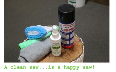 KEEPING A SILKY SAW CLEAN